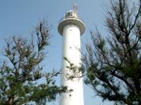 沖永良部島の国頭灯台