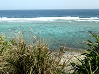 沖永良部島の国頭灯台の写真