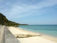 沖永良部島のワンジョビーチ/湾門浜の写真