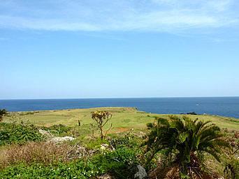 沖永良部島の黒瀬半崎