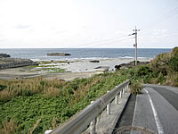 内喜名海岸/ネチナ海岸