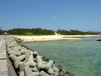 沖永良部島の長浜