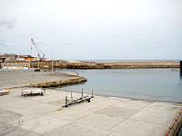 沖永良部島の知名港/知名漁港の写真