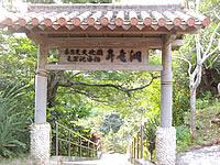 奄美諸島 沖永良部島の昇竜洞入口・管理棟の写真