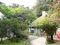 沖永良部島の昇竜洞入口・管理棟の写真