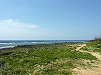 沖永良部島のうじじ浜/ウジジ公園/カナダ帆船慰霊の地 - 海岸線自体は広大です