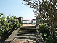 沖永良部島の川尻橋展望所の写真