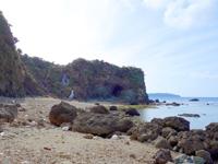 沖永良部島の阿場の滝/アバの滝の写真