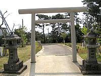 沖永良部島の高千穂神社の写真