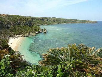 沖永良部島のウミガメビューポイント/ウパマ浜「ウミガメが見れなくてもこの景色だけでも十分!」
