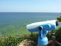 沖永良部島のウミガメビューポイント/ウパマ浜の写真