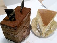 沖永良部島の城乃屋/パティスリーJYONOYA - チョコレートケーキとチーズケーキ