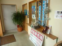 奥武島の奥武島海底観光グラスボート - 市場の一番端にチケット売り場