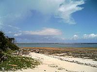 奥武島の南の海