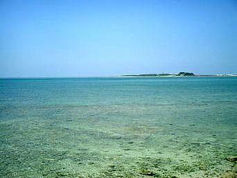 瀬長島の瀬長の海