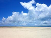 竹富島のコンドイビーチ沖 - 言われなければコンドイビーチとはわかりません