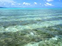 竹富島のコンドイビーチ沖 - かなり沖にはこんな場所も!