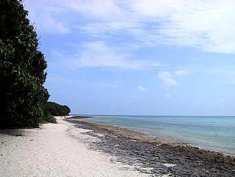 竹富島のカイジ浜「コンドイビーチとつながっているけど、超穴場です」