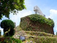 八重山列島 竹富島のなごみの塔の写真