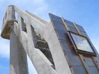 竹富島のなごみの塔 - 老朽化により塔には立入禁止