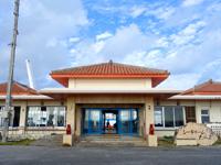 多良間島の前泊港/シードリームたらま/旅客ターミナル - 施設は前からありましたが使われていませんでした