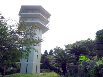 多良間島の八重山遠見台展望台/展望タワー「多良間島で最も高い場所から景色が望める」
