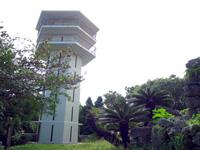 宮古列島 多良間島の八重山遠見台展望台の写真