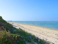 多良間島のウカバトゥブリ - トゥガリラに近い印象のビーチ