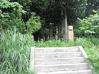 多良間島の父母の森/父母の碑 - 入口部分はこんな感じ