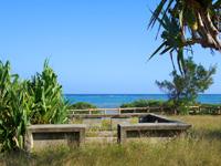 多良間島のミッジトゥブリ/三ツ瀬公園 - キャンプ場でもあります