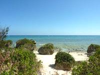 多良間島の三ツ瀬公園の写真