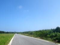 多良間島のたらま島一周マラソン大会 - とにかく平坦なコースです