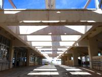 渡嘉敷島のフェリーターミナル - 新造船フェリーとかしきです