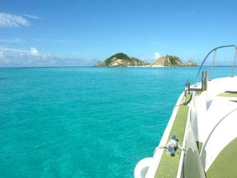 渡嘉敷島のケラマ航路 みつしま