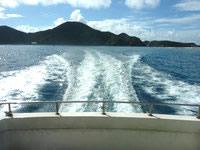 渡嘉敷島のケラマ航路 みつしまの写真