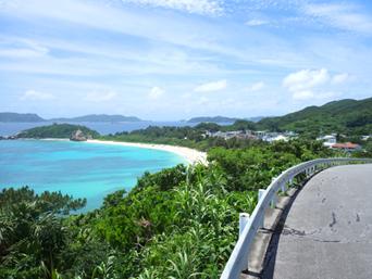 阿波連ビーチ絶景ポイント