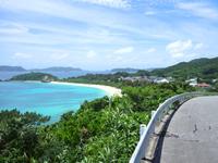 渡嘉敷島の阿波連ビーチ絶景ポイント