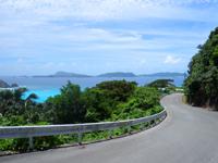 渡嘉敷島の阿波連ビーチ絶景ポイント - 海の色が時間と共に変わります
