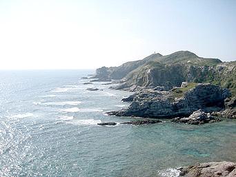 渡嘉敷島の阿波連崎展望台