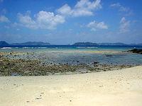 渡嘉敷島の阿波連ビーチ北の海