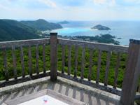 渡嘉敷島の照山展望台 - トカシク〜阿波連の道路もキレイ