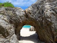 渡嘉敷島の阿波連ビーチの穴場の写真