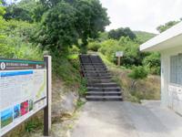 渡嘉敷島の照山-阿波連遊歩道 - 遊歩道というよりひたすら階段
