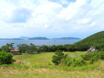 渡嘉敷島の照山森林公園「照山展望台阿波連側入口部分にある公園です」