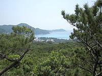 渡嘉敷島の森林公園展望台 - 景色はイマイチ・・・