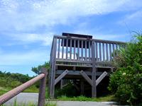 阿波連崎途中の展望台