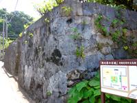 根元家の石垣