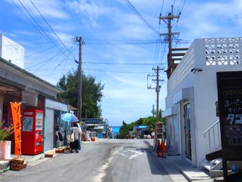 渡嘉敷島の阿波連集落