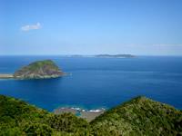 渡嘉敷島のアラン展望台 - ここからの景色は絶景