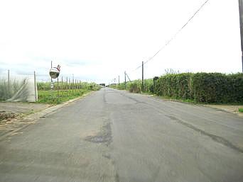 浅間陸軍飛行場跡/滑走路跡地